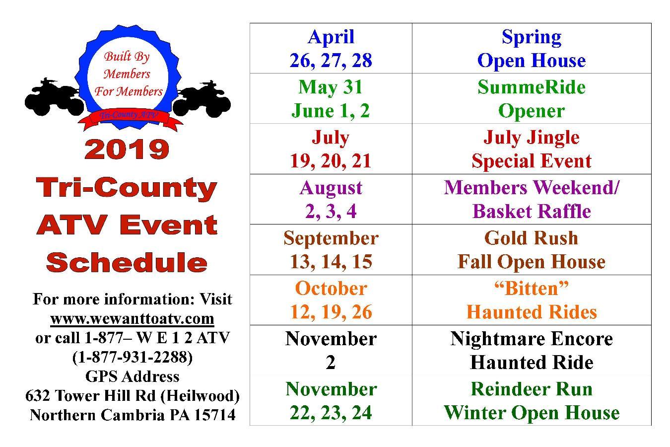 Tri-County ATV Recreation and Rescue